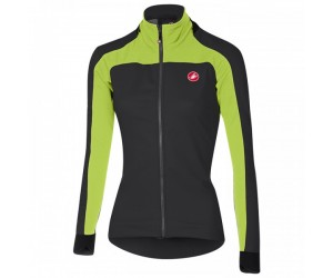 Giacca Castelli Mortirolo 2 W Jacket Antracite/Lime Mis. XS