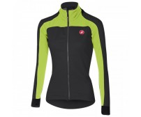 Giacca Castelli Mortirolo 2 W Jacket Antracite/Lime Mis. S