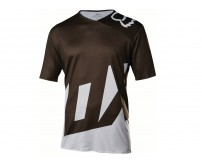 Maglia Fox Attack Jersey Black/White mis. L