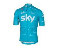 Maglia Castelli Podio Jersey Sky Azzurro mis.L