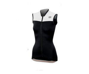 Canotta Sportful Grace Sleeveless Nero/Bianco Mis. XS