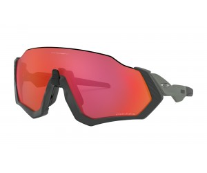 Occhiali Oakley Flight Jacket Prizm Matte Steel
