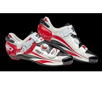 Scarpe Sidi Ergo 3 carbon White/Black/Red n° 43
