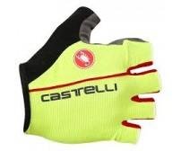 Guanti Castelli Circuito Glove Giallo Fluo/Rosso  mis. L