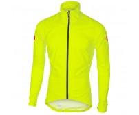 Mantellina Castelli Emergency Rain Jacket Giallo Fluo mis. L